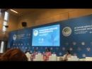 Второй Евразийский Женский Форум, выступление Агнессы Осиповой, хозяйка бренда Баскин Роббинс