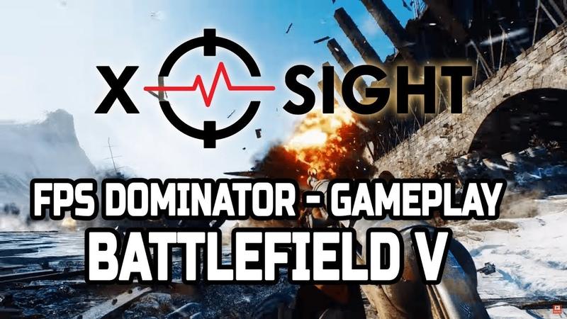 STRIKEPACK F.P.S. DOMINATOR GAMEPLAY Battlefield V 1 by BLACKWHITE PS4