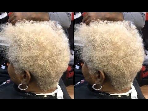 How to cut a Short Pixie Haircut for Curly hair - Short Layered Haircut Tutorial