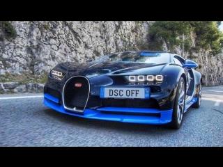 Тест 1500 л.с. Bugatti CHIRON за ₽ 210 млн.
