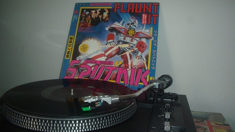 Sigue Sigue Sputnik - Flaunt It - 1986 - (LADO B)