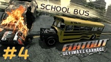FlatOut Ultimate Carnage l Гонка в стиле CARNAGE #4 SCHOOL BUS