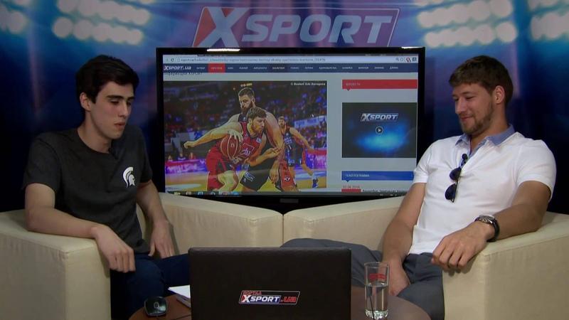 Вячеслав Кравцов, баскетболист сборной Украины. Веб-конференция на XSPORT.ua 3/06/2016