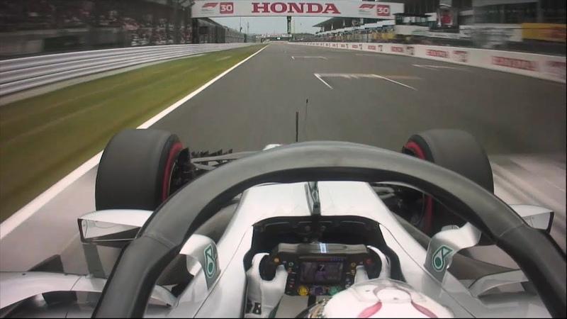 Lewis Hamilton's 80th Pole Lap   2018 Japanese Grand Prix