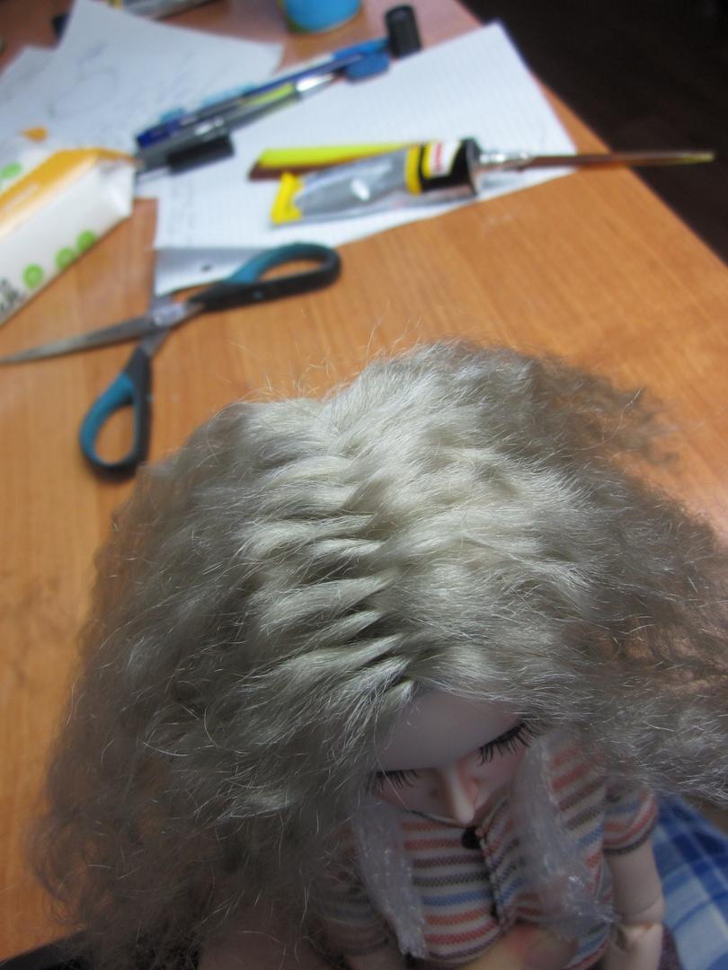 них как сделать парик кукле поэтапно фото определённого момента даже