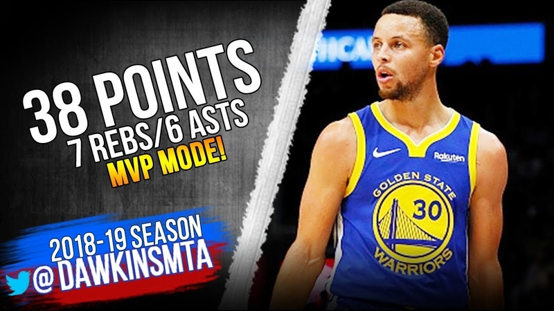 Stephen Curry Full Highlights 2018.12.10 Warriors vs TWolves - 38 Pts, 6 Asts! | FreeDawkins