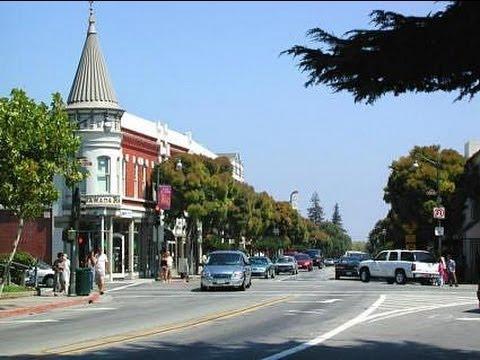 Силиконовая Долина даунтаун Лос-Гатос Silicon Valley Los Gatos