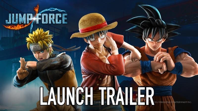 Jump Force — релизный трейлер