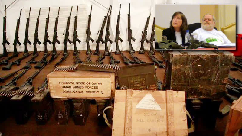 Unseen Libya with James and JoAnne Moriarty – Illegal Weapons Shipped to Libya From the U.S.