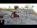 Первый тест мини багги Богдана 3