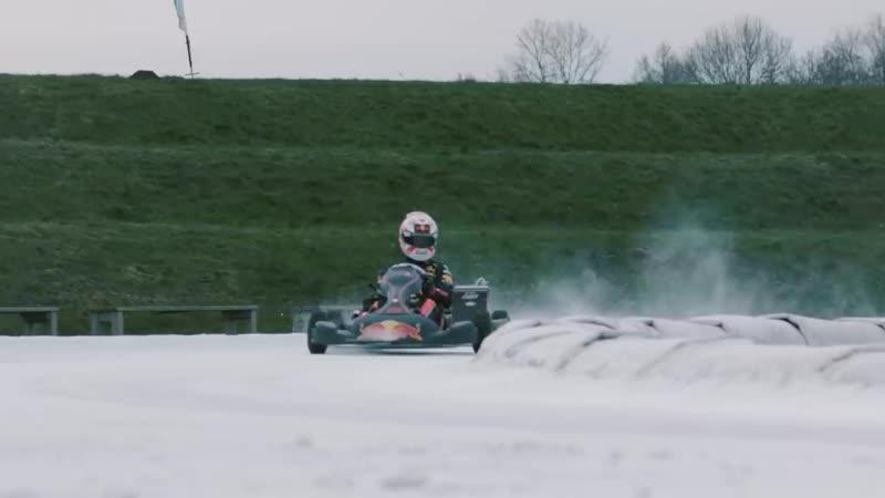 Karting one ice