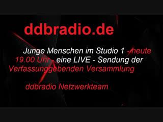 ddbRadio präsentiert: VV- Junge Menschen im Studio