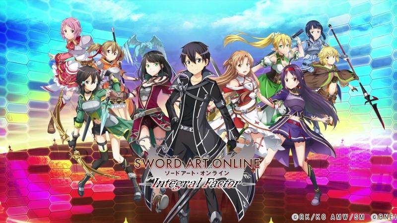 [Обновление] Sword Art Online: Integral Factor - Геймплей | Трейлер