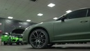 AUDI A7 Matte Military Green by LUNA NUEVA