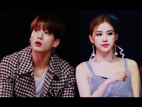 JUNGKOOK AND ROSÉ HIDDEN MOMENTS AT MMA 2018 (WHO THE F SAID THEY ARE DATING THO ?)
