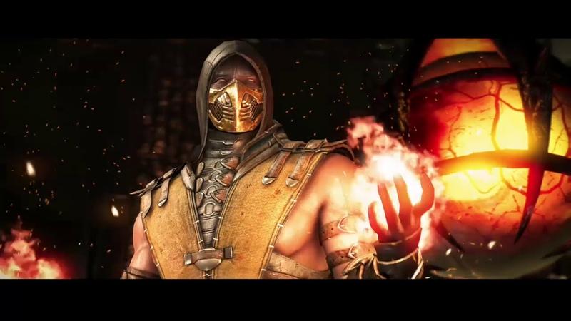 Mortal Kombat X Скорпион vs TREMOR