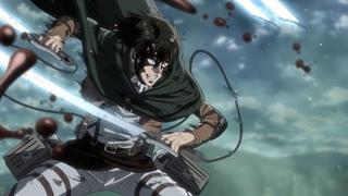 Levi Ackerman vs Beast Titan | Attack on Titan Season 3