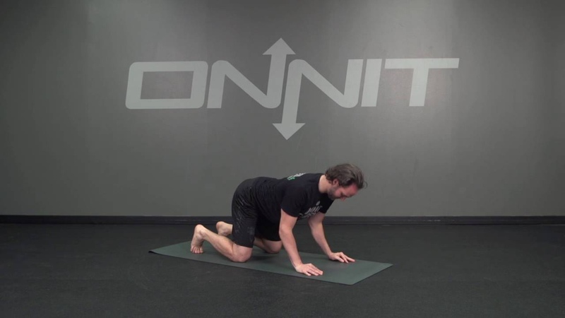 Kneeling Elbow Push Up Circles Bodyweight Exercise