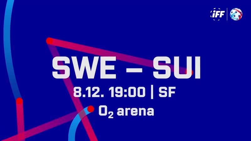 2018 Men's WFC - SWE - SUI SEMIFINAL