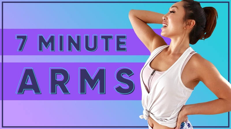7 Minutes to Fabulous Arms! At Home No Equipment Workout