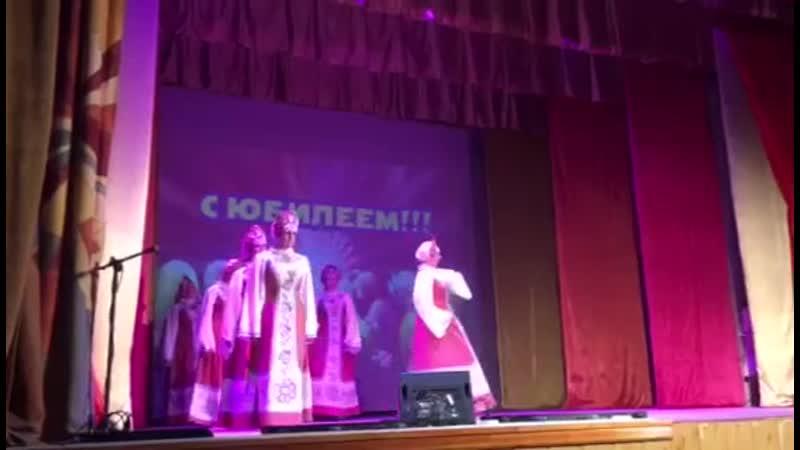 Танцевальный коллектив Престиж танец Узоры луговые