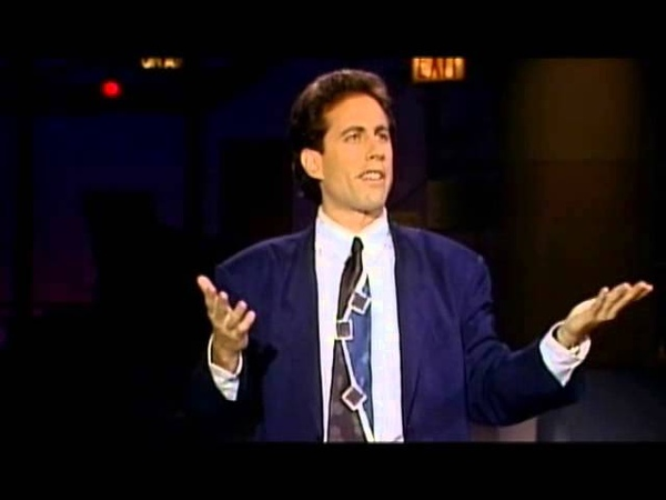Jerry Seinfeld on The Check At The End Of The Meal - Late Show With David Letterman 1989