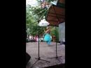 Поляна сказок шоу с голубями.