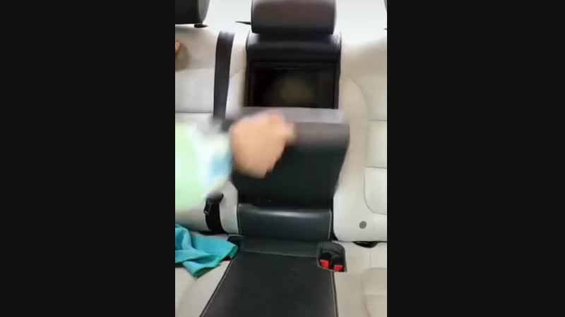 Best passenger seat l Любимое место для поездки