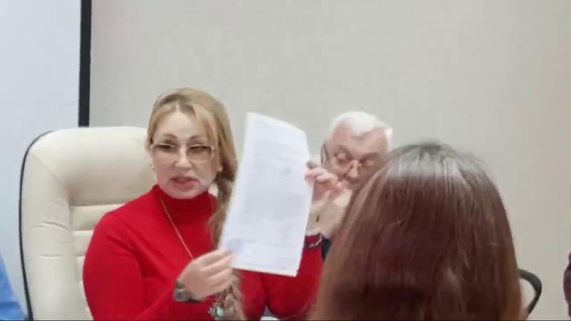Минфин СССР показывает свое рабочее совещание в Москве в прямом эфире,
