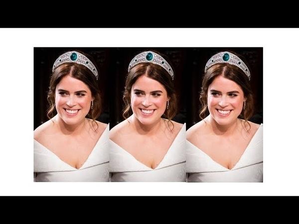 BEAUTIFUL ROYAL BRIDE: PRINCESS EUGENIE OF YORK Princess Eugenie's Wedding