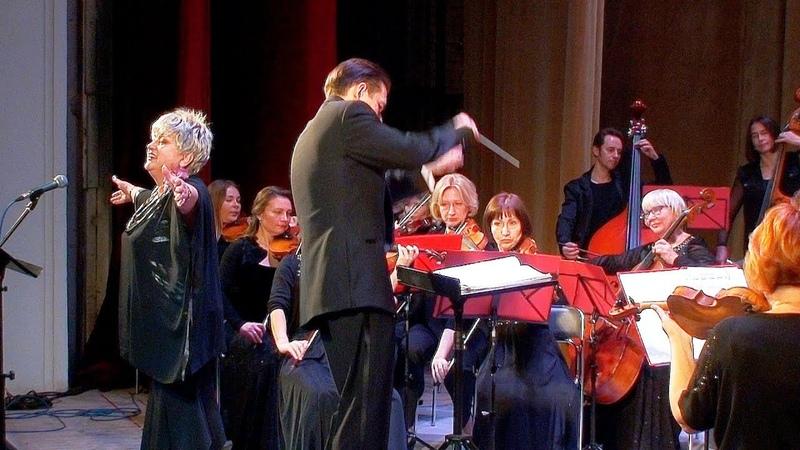 Концерт симфонического оркестра Ступинской филармонии к 145-летию С. Рахманинова. Часть 1.