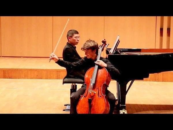 POPPER - Tarentelle op. 33 - Rafaèl ARREGHINI (13 ans) - 1er prix de violoncelle concours FLAME 2016