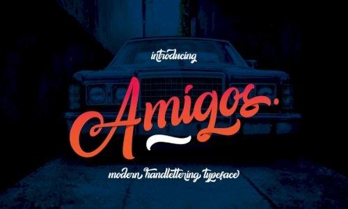 Шрифт - Amigos
