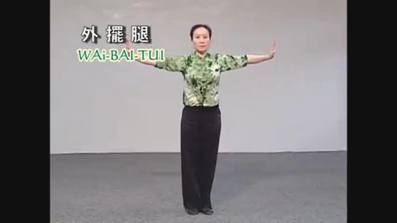 宋麗老師 Chinese Kung-Fu kick 外擺腿 Wai-Bai-Tui