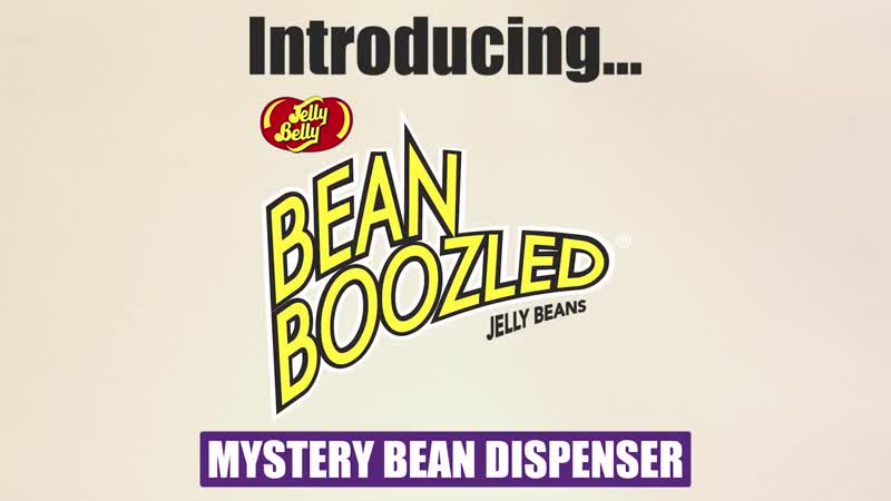 Watch the BeanBoozled Mystery Dispenser magically choose a jelly bean for you