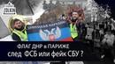 Митинги в Париже. Флаг ДНР, Ксавье Моро, Российский след ФСБ или фейк СБУ. Желтые жилеты.