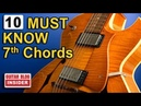 Ten DIFFERENT Must Know 7th-Chords