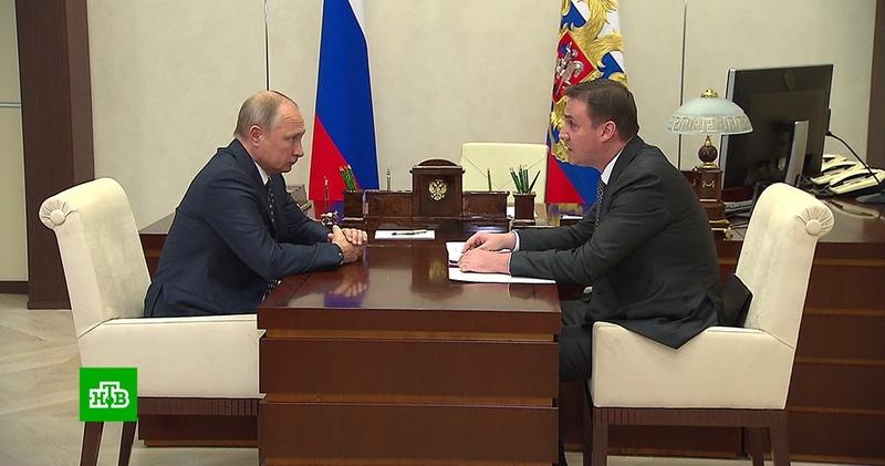 Патрушев доложил Путину о ситуации с ценами на хлеб, молоко и сахар