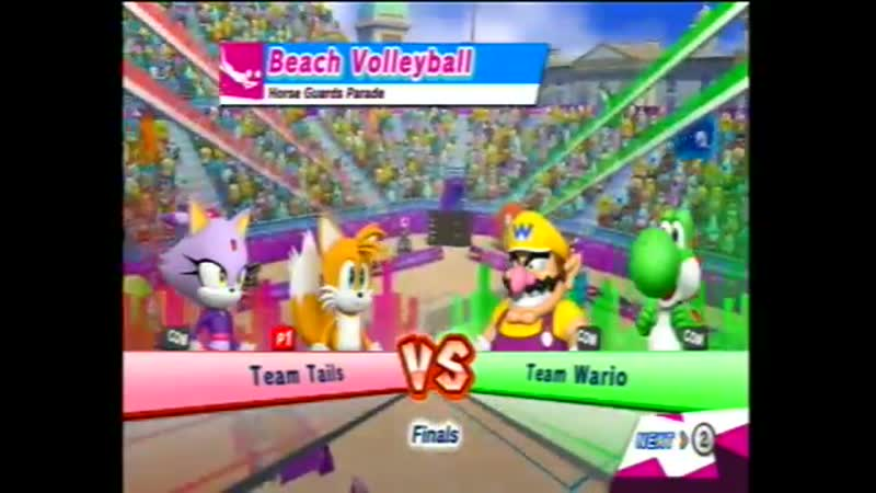 TAILAZE GAME Mario and Sonic at the London 2012 Olympic games Beach Volleyball 2