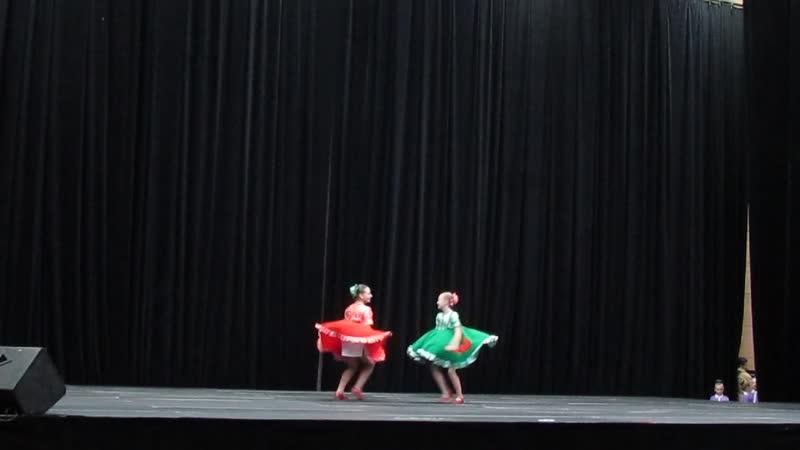 Девичий перепляс 24 ноября Russian Open Dance Кубок России 2018 Курск