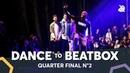 BOY MIJO vs KENZO ALVARES feat. JAYTON DHARNI | Dance Battle To The Beatbox 2018 | 1/4 Final