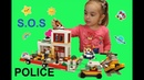 Собираем конструктор LEGO Морской патруль . Video for kids and Lego toys
