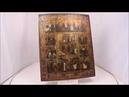 Купить икону Воскресение Христово Двунадесятые Праздники купить икону 19 века OFD0065