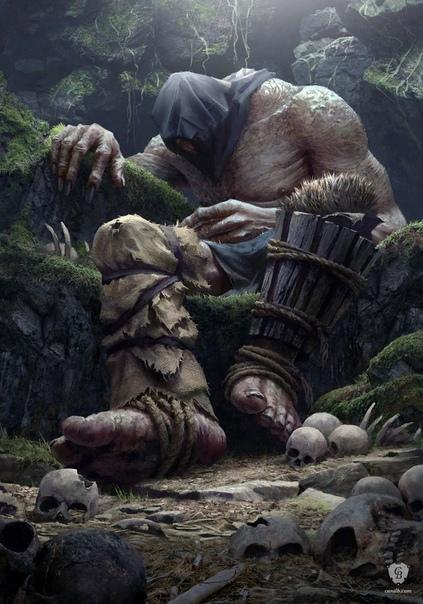 кровавый бог прошло около двухсот лет, с тех пор как учитель заснул. устав охранять его я решился отправиться в путь на поиски своего нового места в этом мире. дорога завела меня в глубокие леса