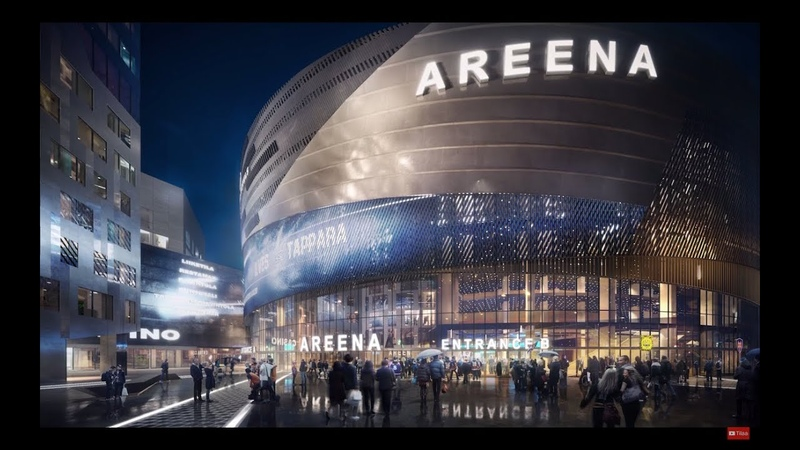 Tampere Deck and new arena