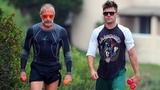 Zac Efron and Gianluca Vacchi TrainingWorkout