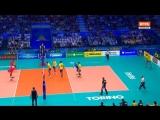 Чемпионат мира. Волейбол. Мужчины. Россия - Бразилия