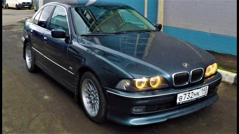 BMW E39 ремонт кузова: пороги и крылья