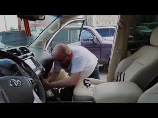 Как угоняют авто Toyota Prado