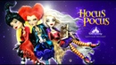 Doll Figurine HOCUS POCUS The Sanderson Sisters Halloween Witches Monster High Repaint Ooak